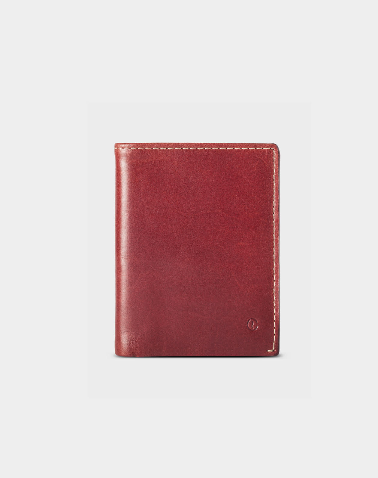 leather slim wallet Costa Rica berry 2