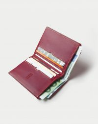 leather-wallet-red-open-card