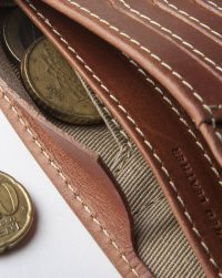 leather-billfold-brown-coins