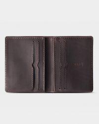 leather-wallet-dark brown-open
