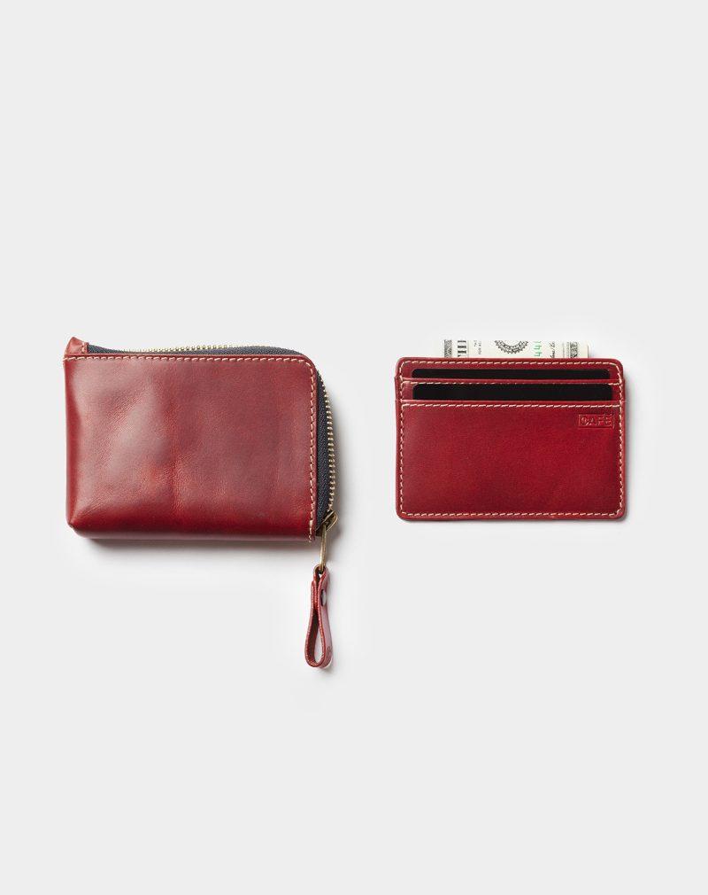 osaka zip wallet open