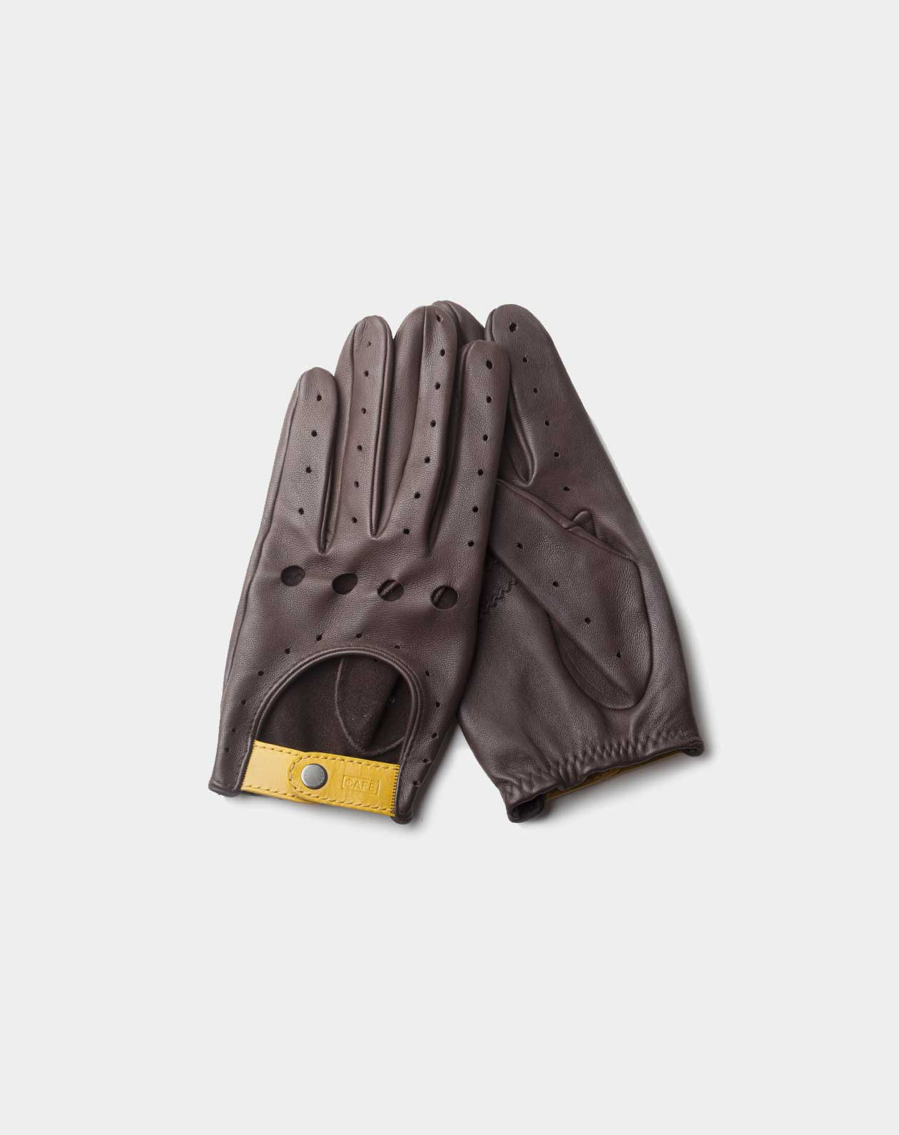 driving gloves black coffee