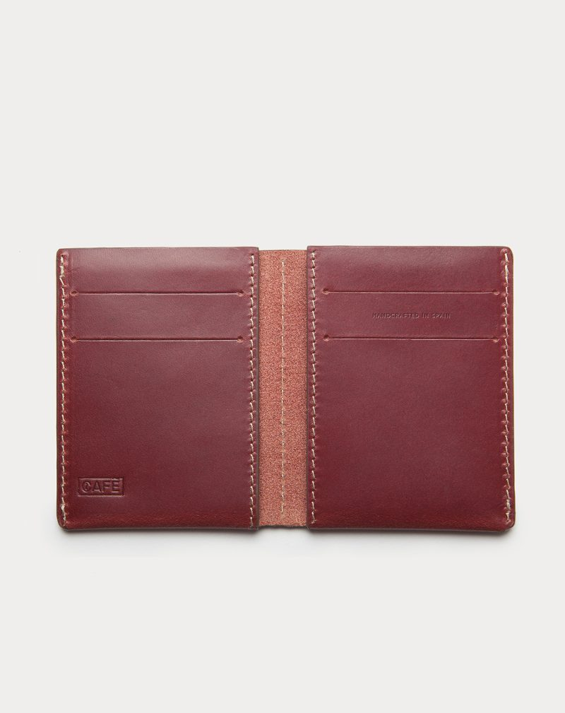 slim walled red open front