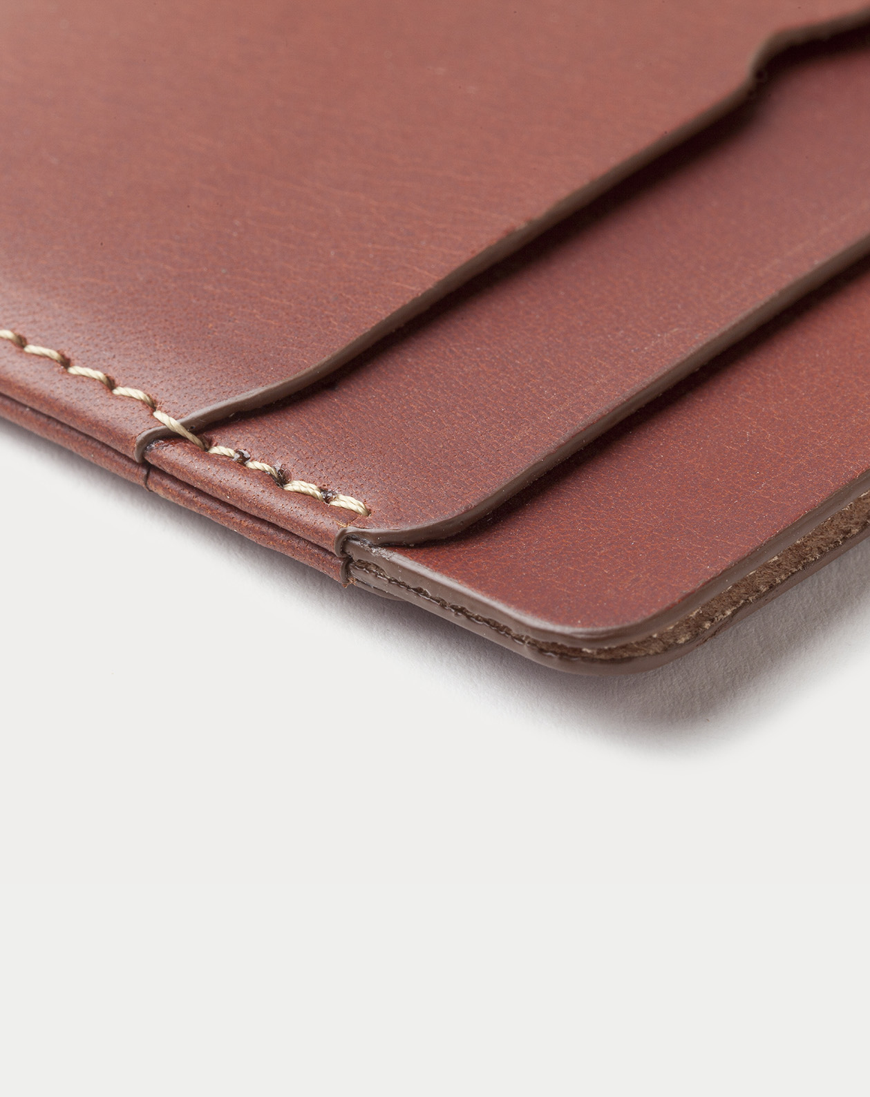 Leather Card Holder Panama + Roasted with five pockets. Tarjetero de piel Panama + Roasted con cinco compartimentos. v4