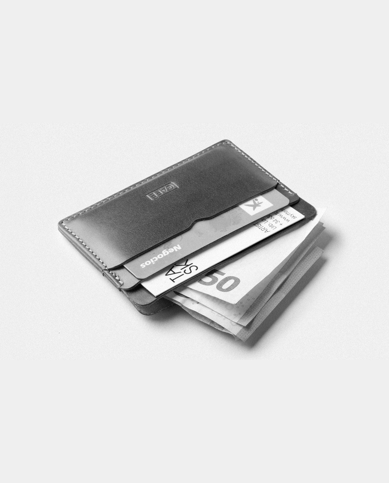 card holder for cards and bills
