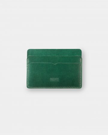 card holder green front