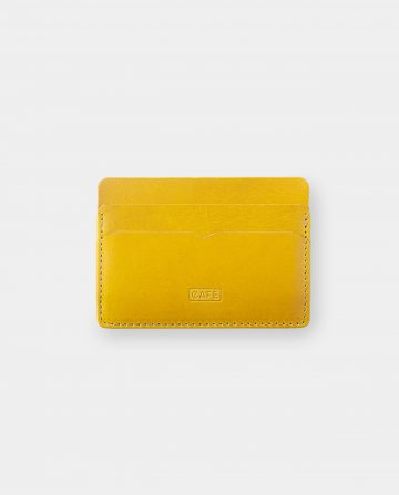 card holder yellow front