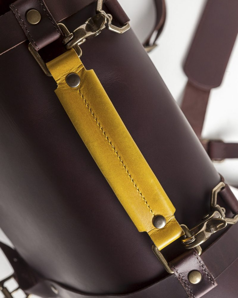 briefcase leather handle