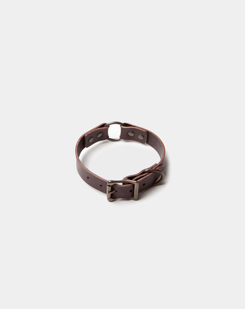 Dog Collar Dark Brown