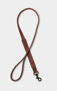 dog-leash-leather-brown-mid-front
