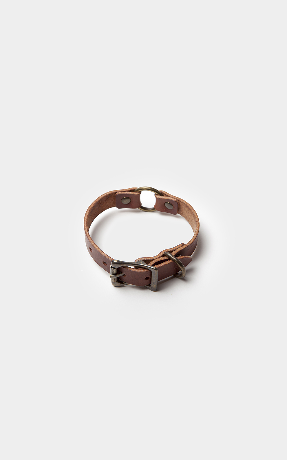 Puppy Collar Brown