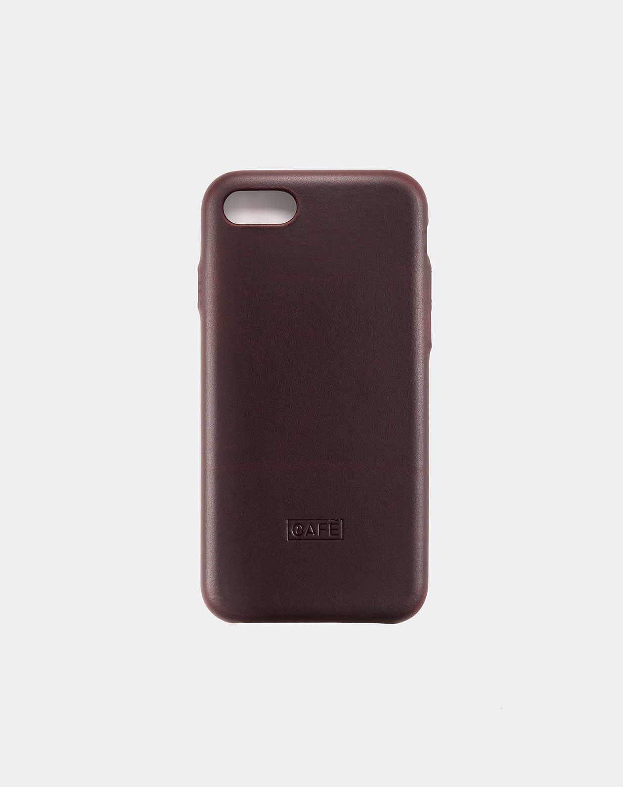 iphone 7 8 leather case black
