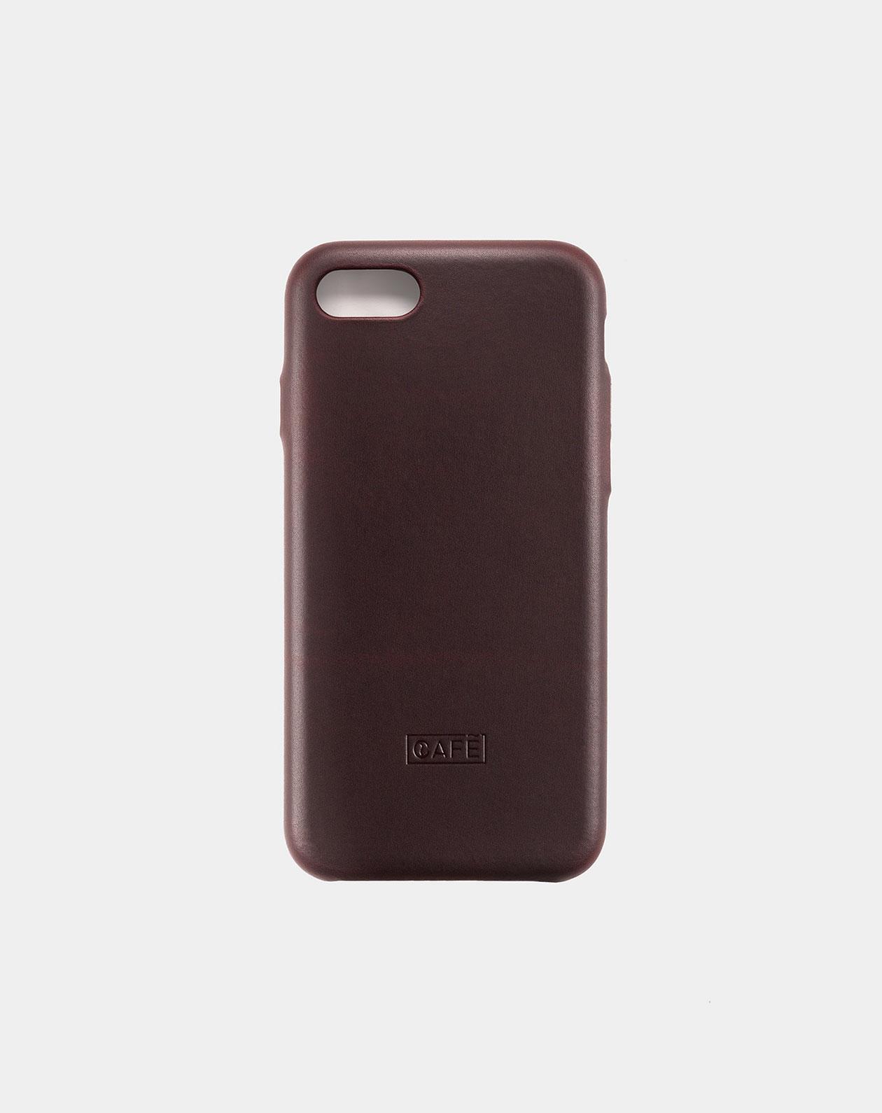 iphone 7 8 leather case black