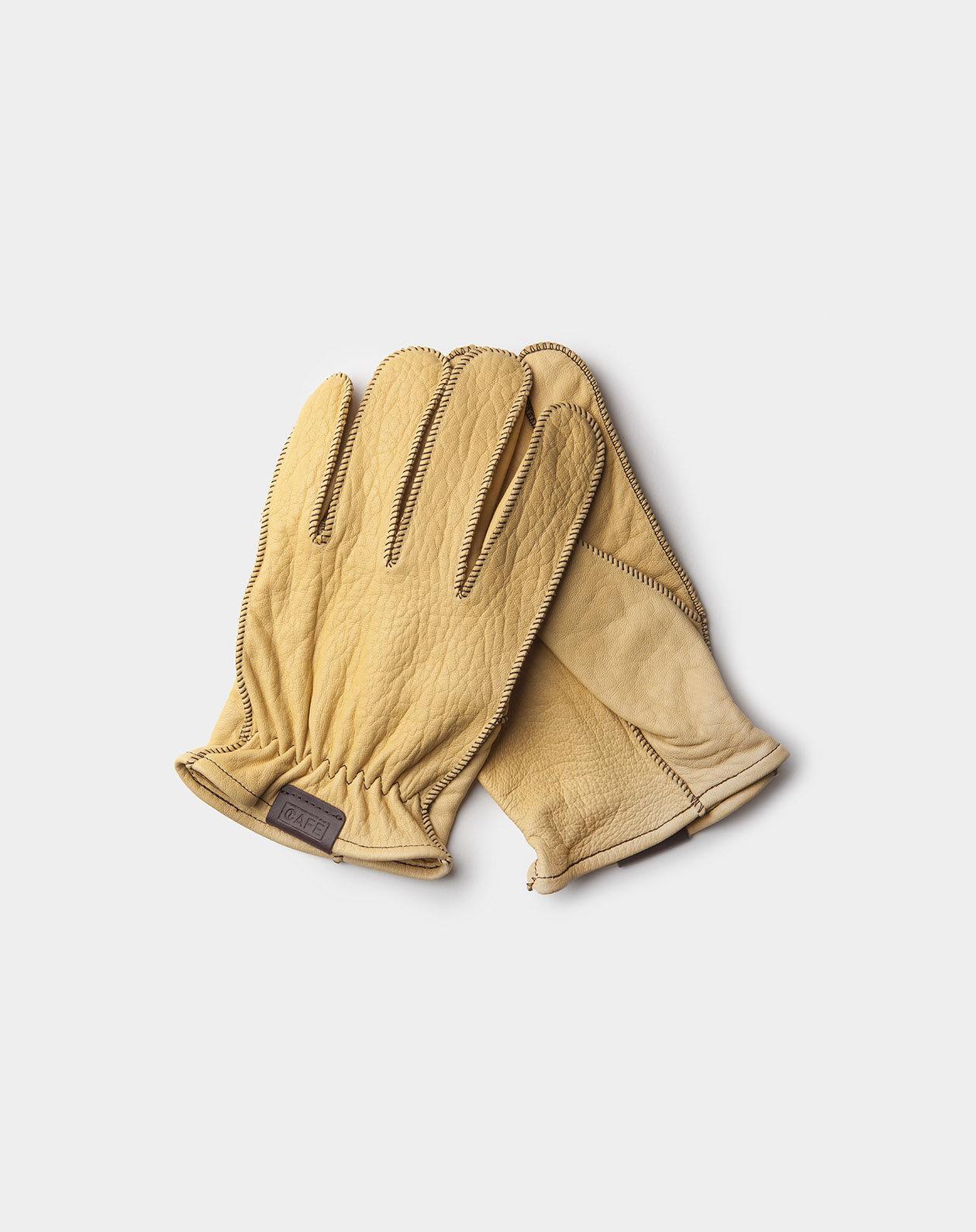 driving gloves cream handcrafted in Spain