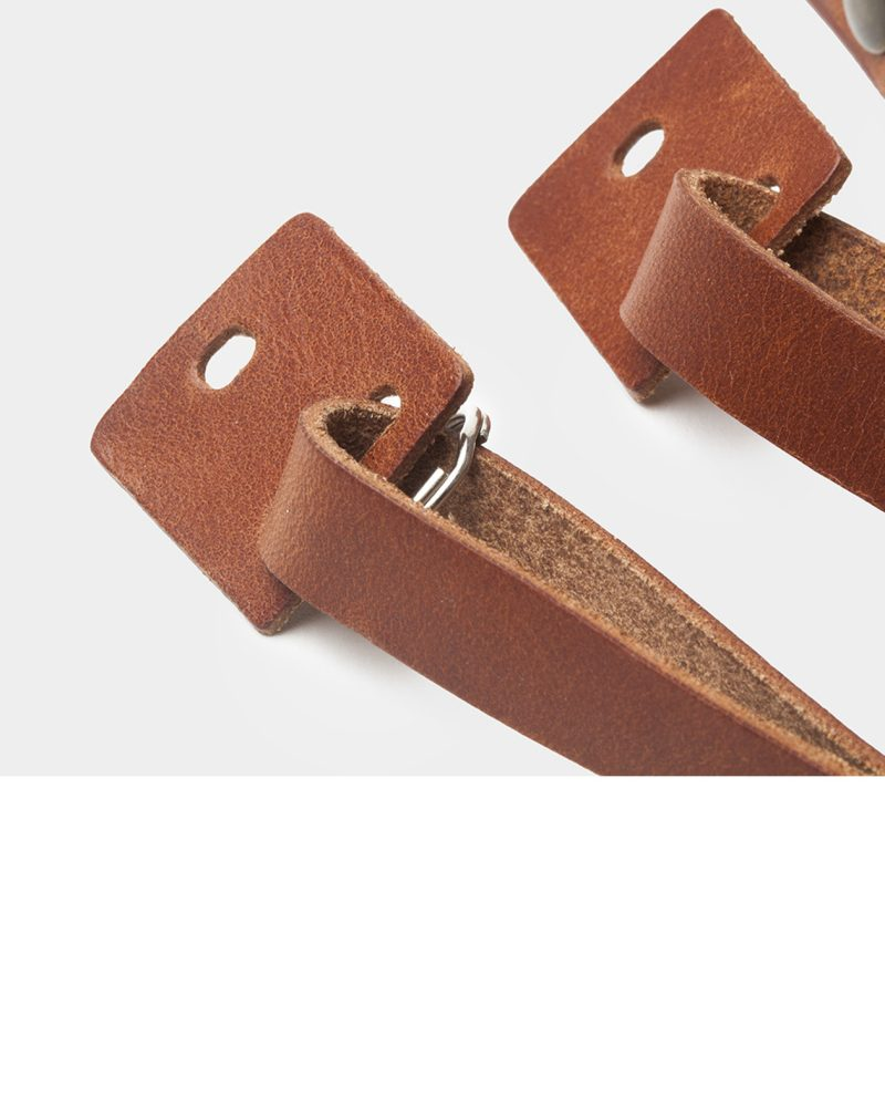 camera trap detail leather brown