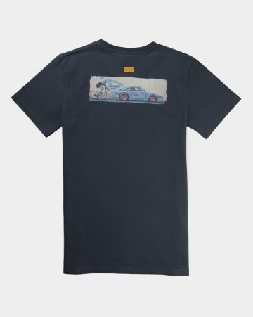 t shirt take risks pioneer manu campa navy