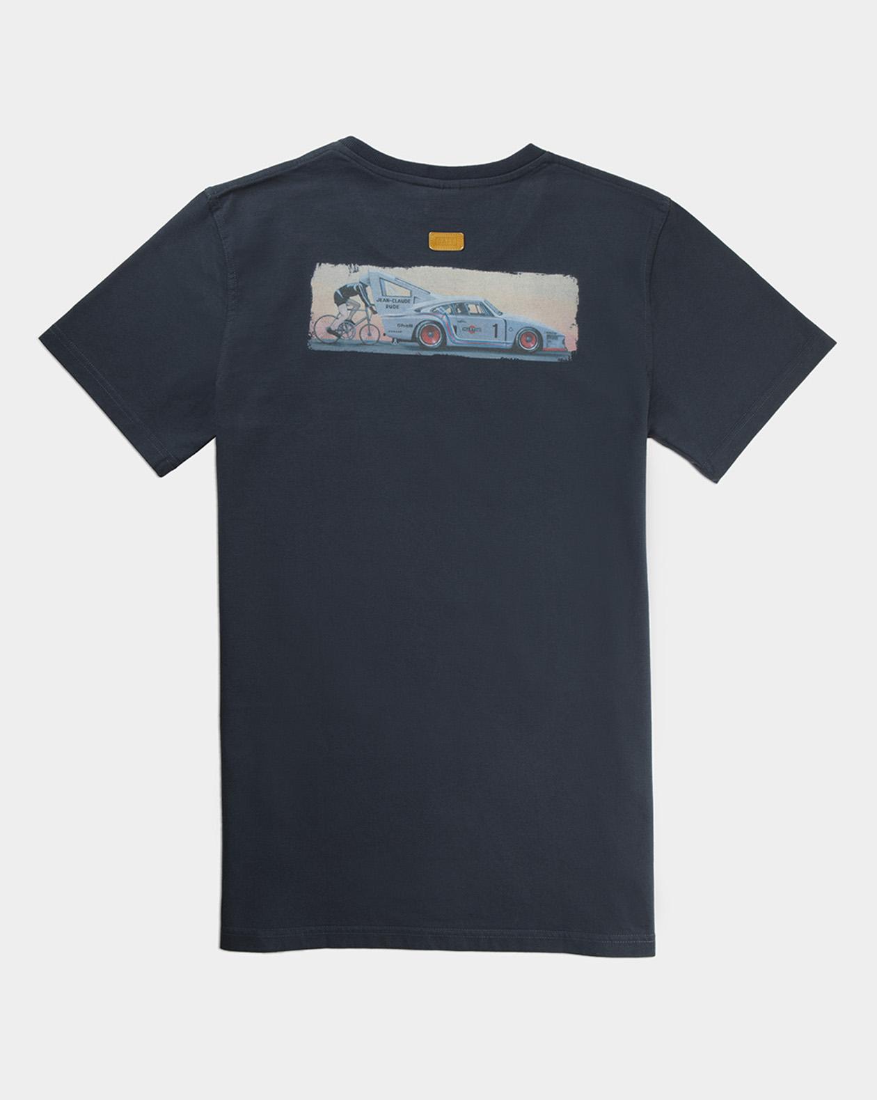 t shirt take risks pioneer manu campa navy