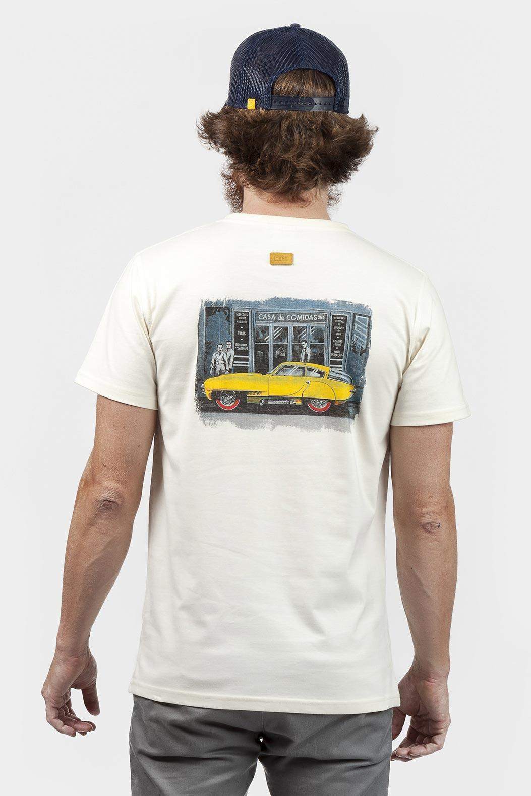 yellow-car-organic-t-shirt