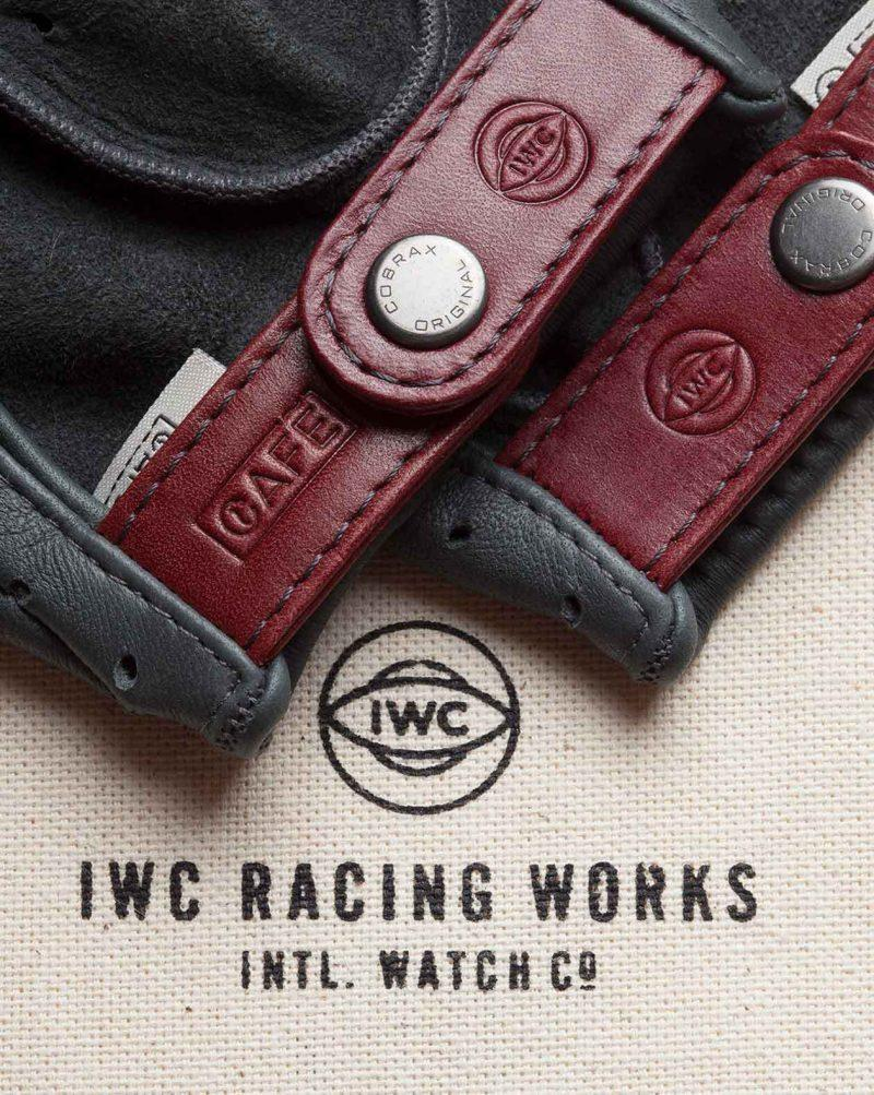 IWC driving gloves by Café Leather