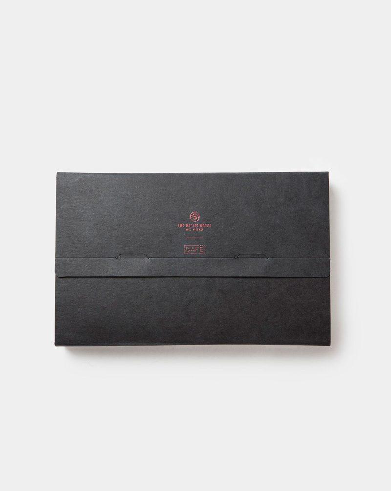 iwc and cafe leather packaging