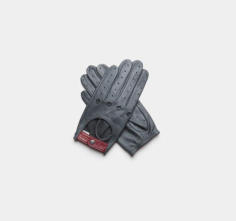 iwc driving gloves grey