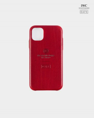 iwc iphone case red back
