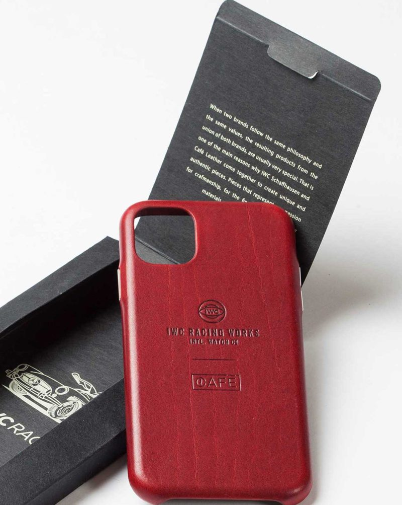iwc iphone case red package
