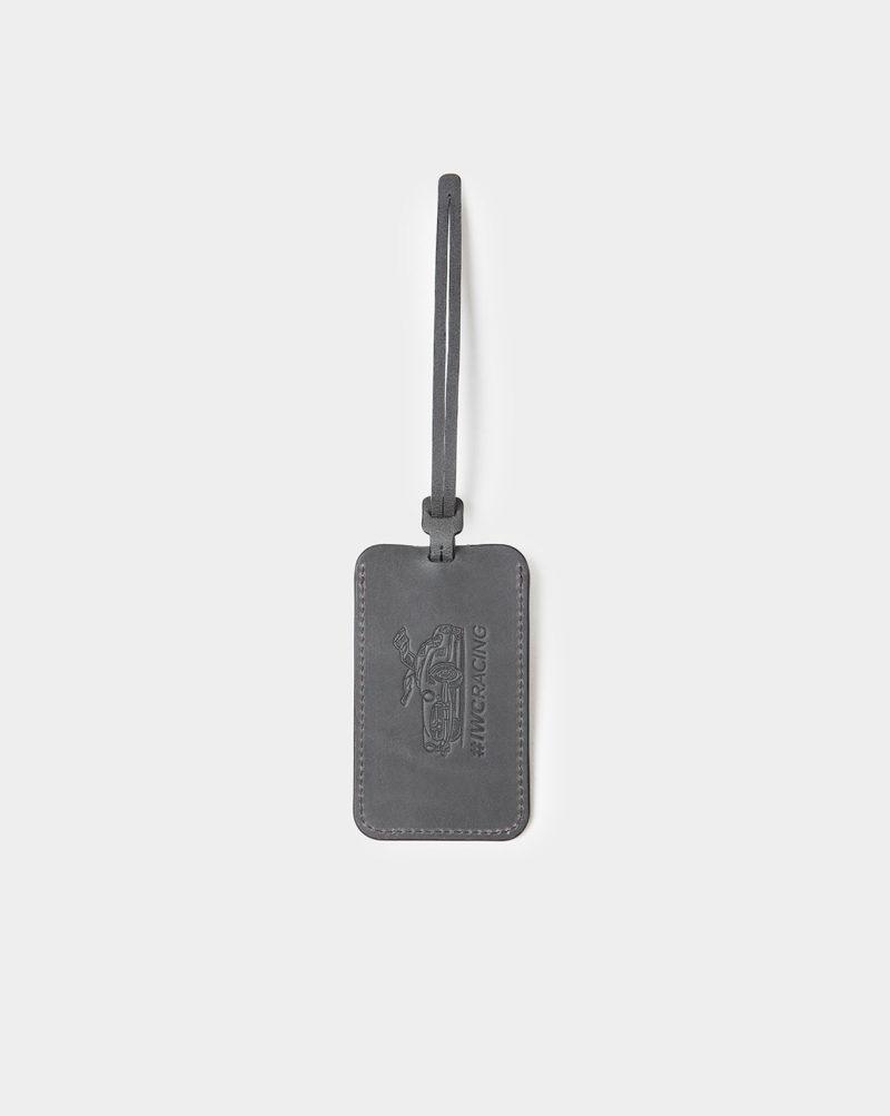 iwc luggage tag black