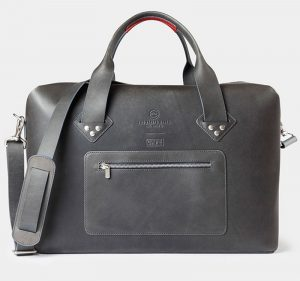 iwc travel bag black front