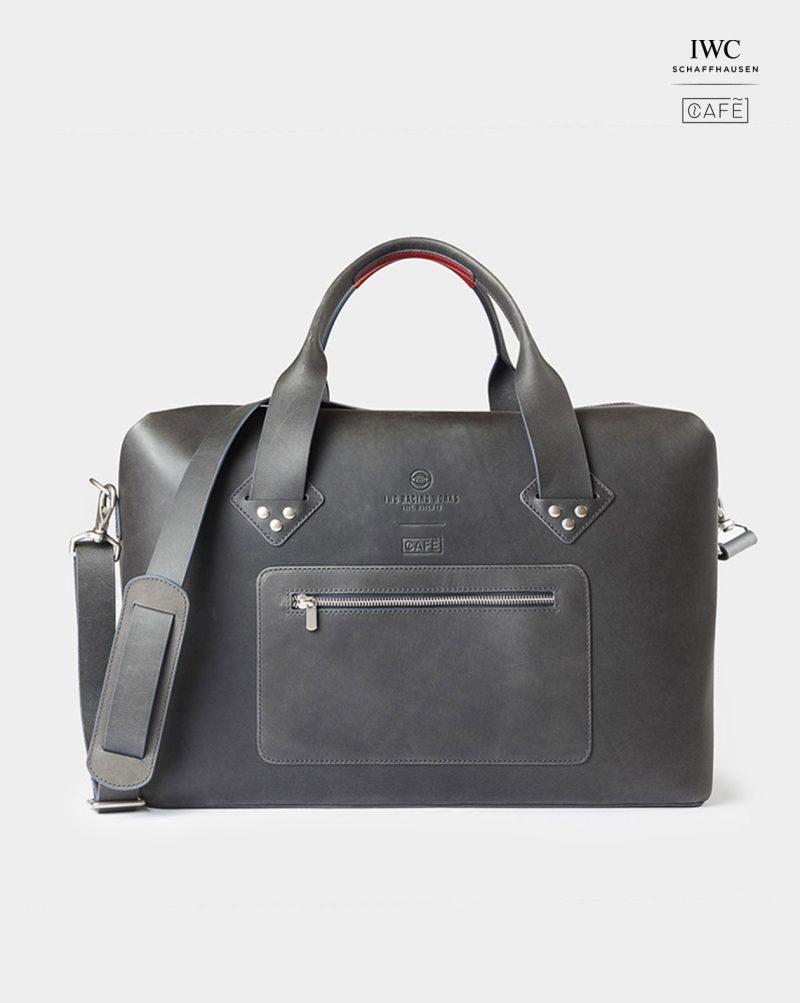 iwc travel bag black front