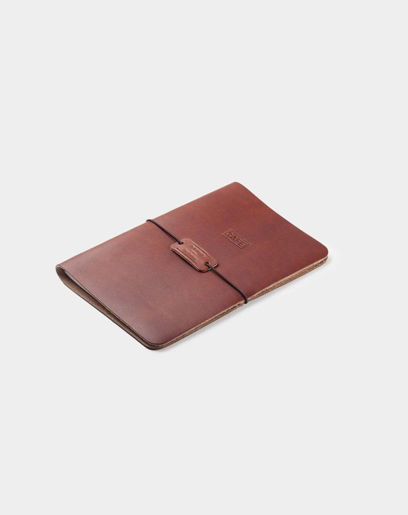 handmade notebook brown
