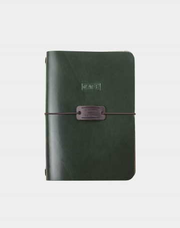 handmade notebook forest
