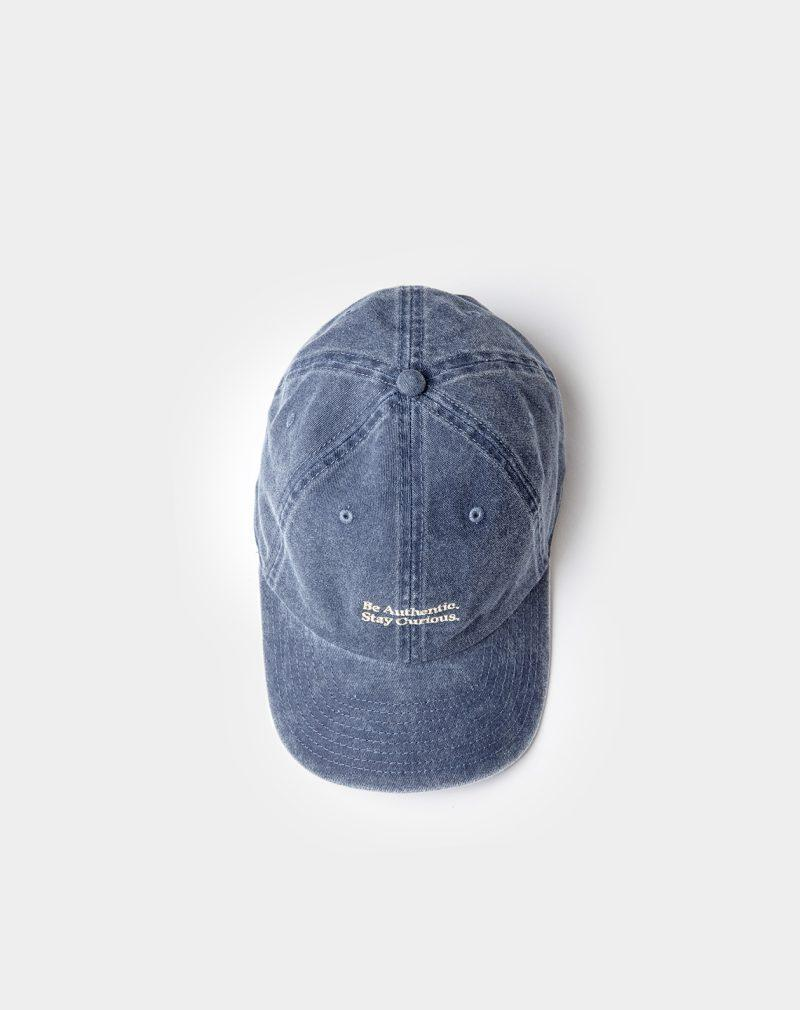 washed cap navy above sight