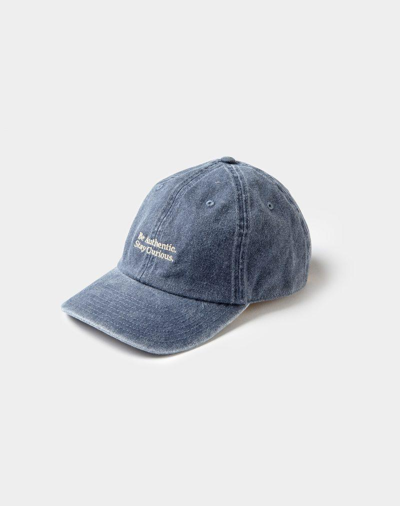 washed cap navy
