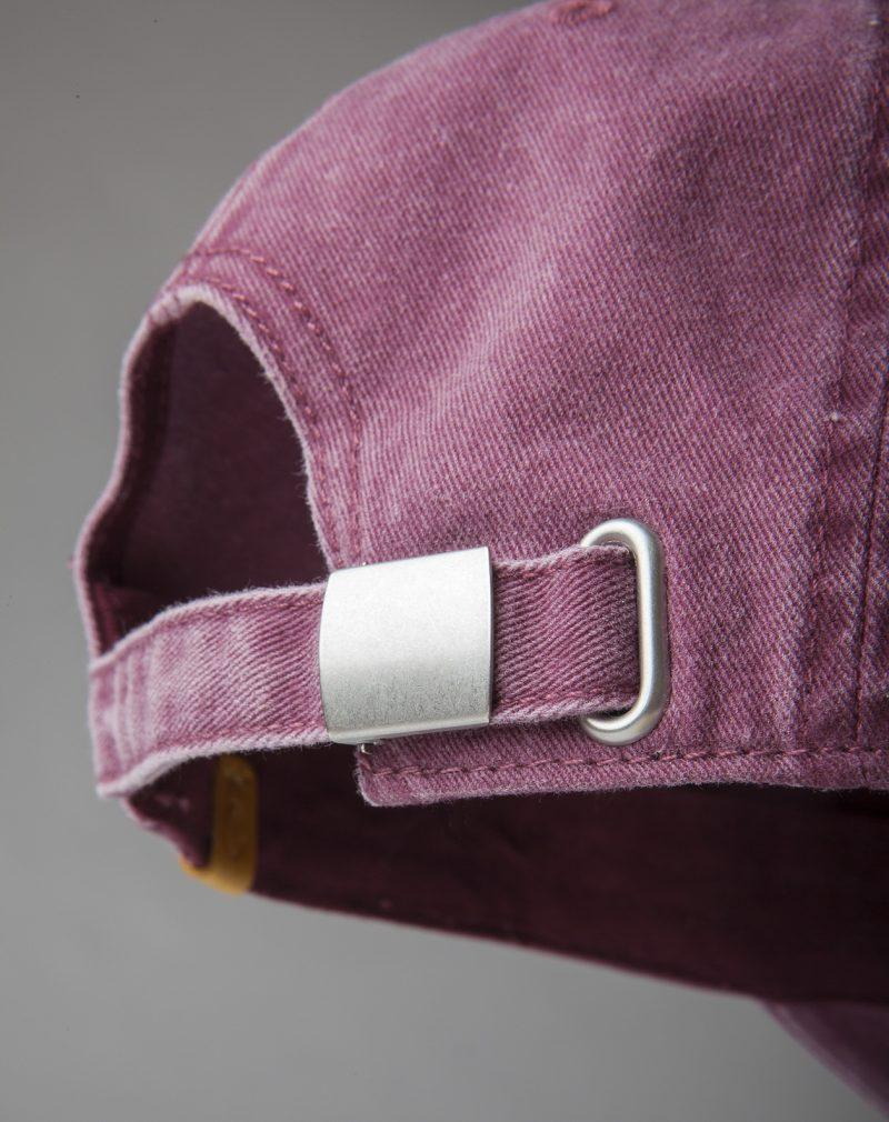 Washed Cotton Cap back detail