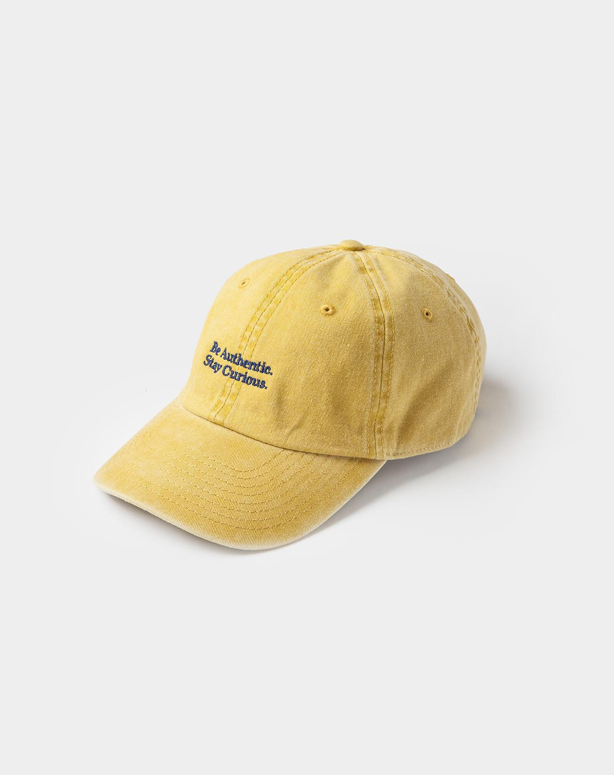 washed cap spicy mustard