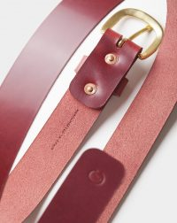 burgundy-leather-belt