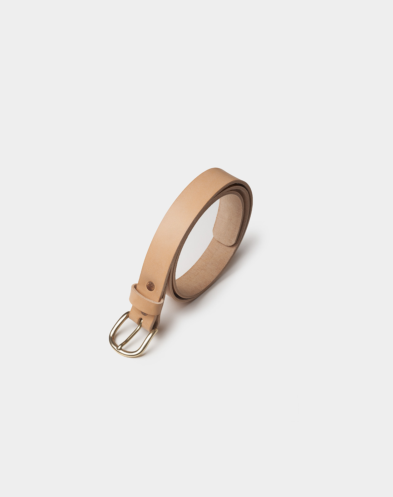 leather belt natural
