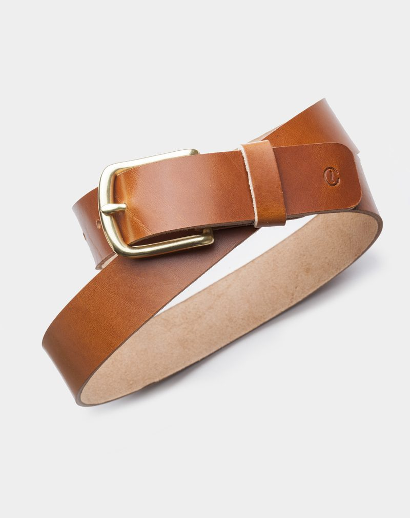 leather belt roasted