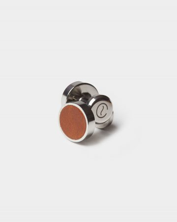 leather cufflinks roasted