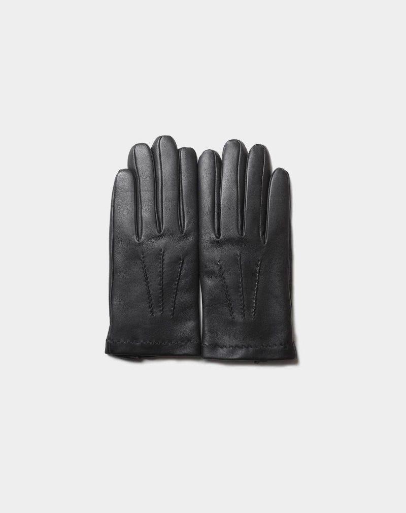 dress gloves black handmade in Spain