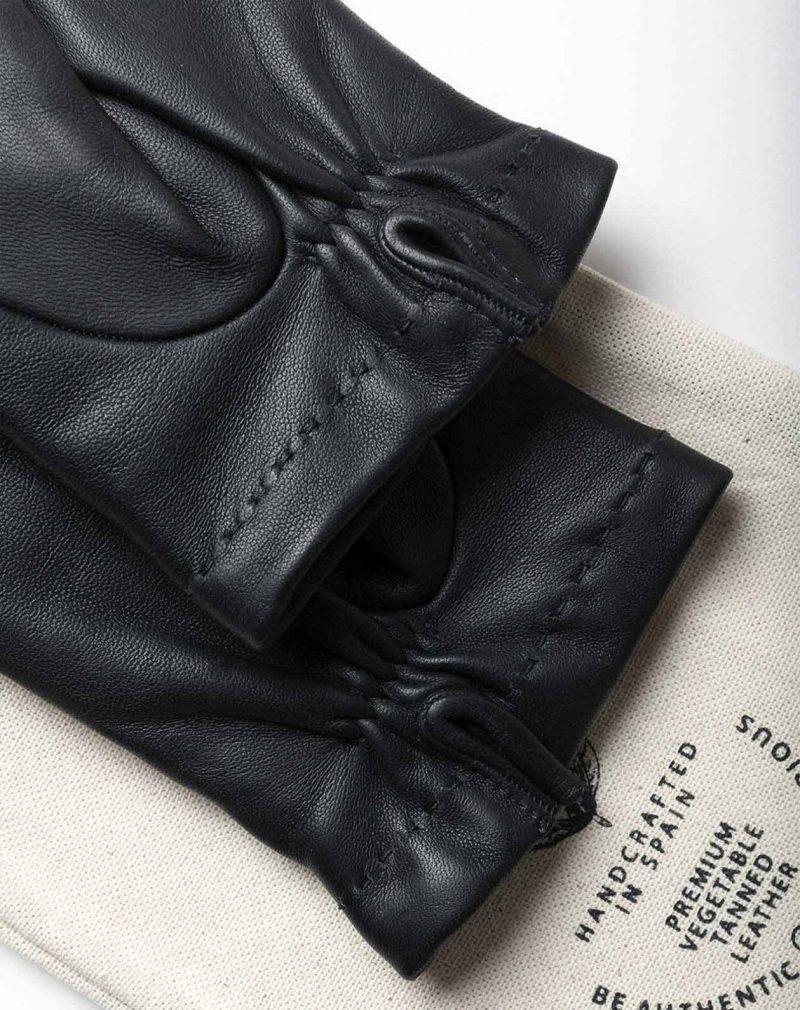 black dress gloves handmade in Spain