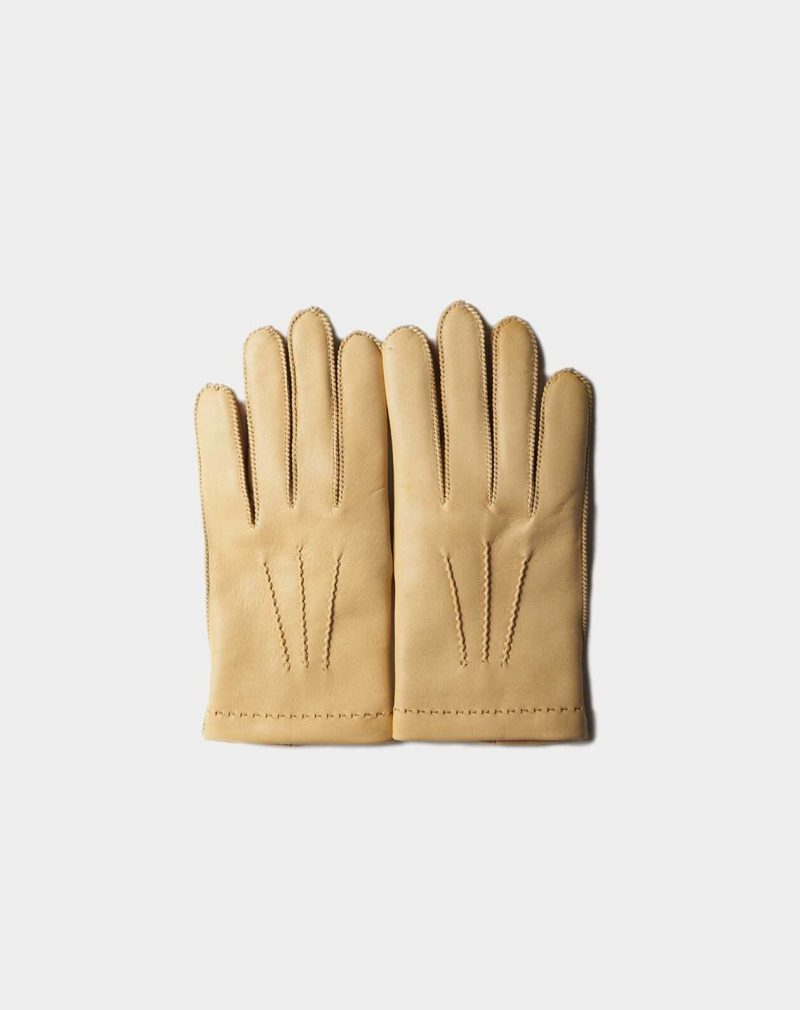 cashmere gloves side by side