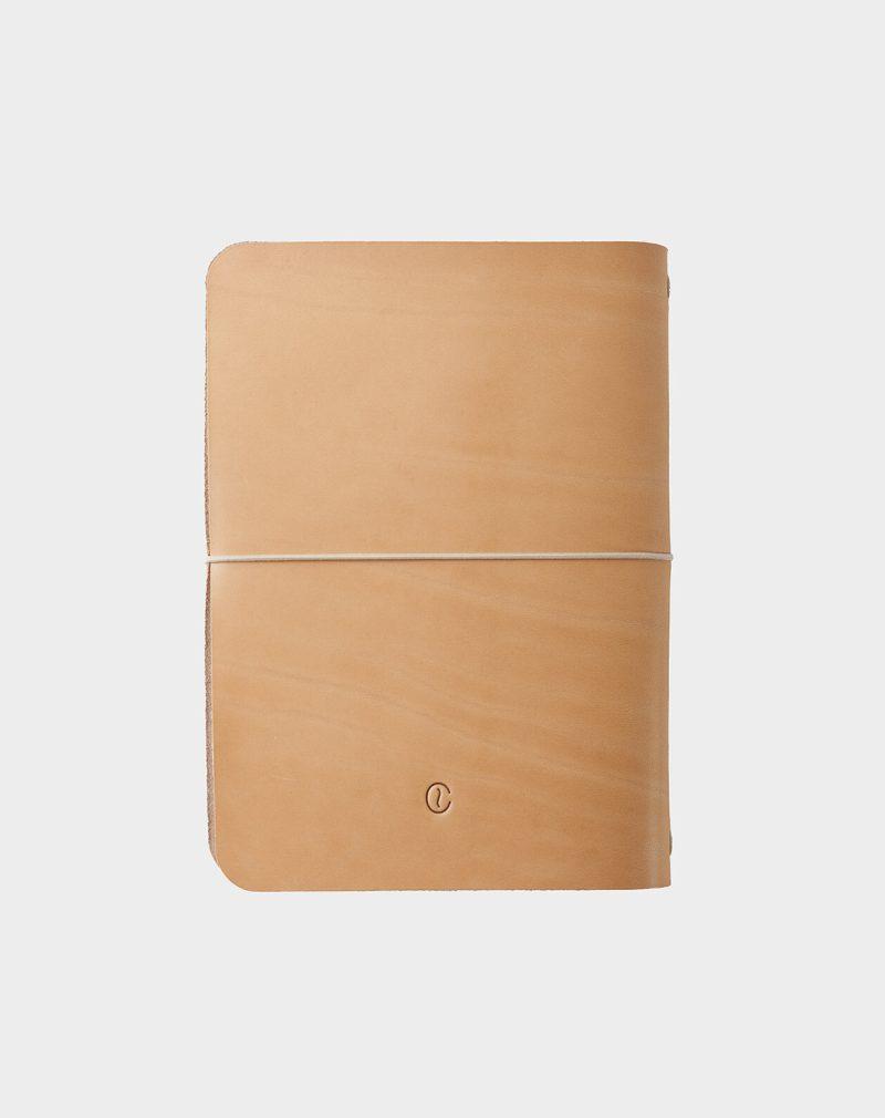 cuaderno de piel natural